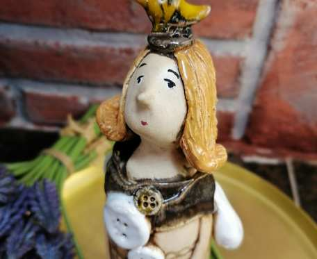 Anioł ceramiczny z duszą