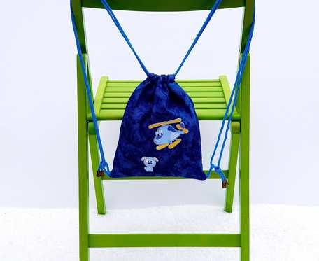 Plecak – Worek dla dzieci samolot i pies