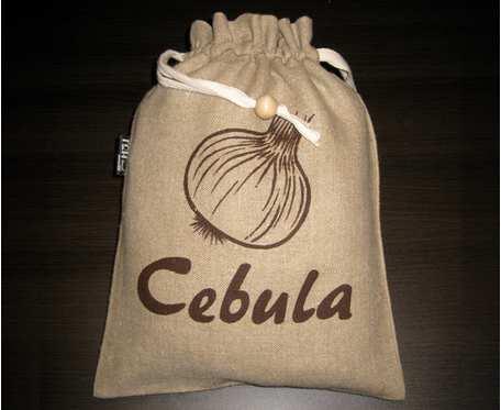WORECZEK LNIANY do przechowywania cebuli