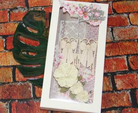 Kartka w pudełku na ślub I