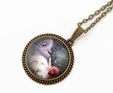 Medalion Totoro - Ghibli