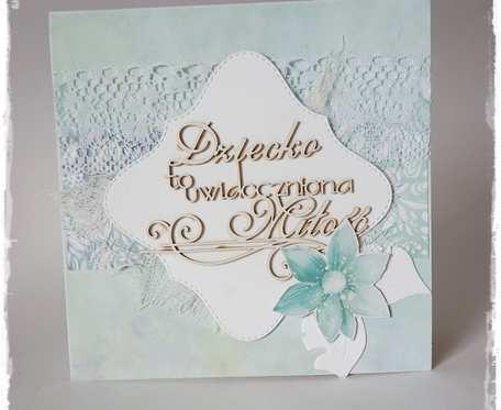 Kartka z okazji chrztu świętego.