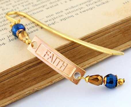 Mała zakładka do książki - Faith - Wiara