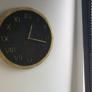 Handmade Zegar z Betonu Roman Grafitowy Złoty Betonowy Oryginalny do Salonu Kuchni Pokoju Biura Sypialni na Prezent Nowoczesny Stylowy Industrialny Minimalistyczny Biały Beton Cementowy Designerski Loftowy Dekoracyjny Elegancki Vintage Rustykalny do Loftu