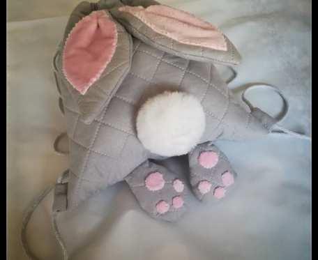 Worek, plecak - króliczek