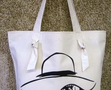 Bawełniana torba na zakupy - LADY 2