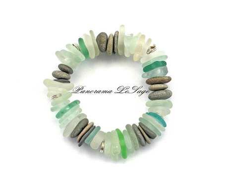 Sea Glass Bransoleta 12