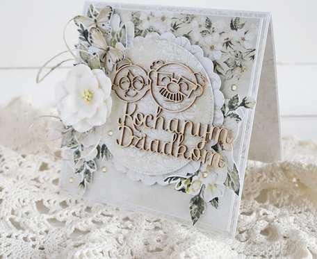 Kartka dla Dziadków, w pudełku, 765