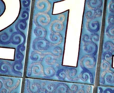 Numer adresowy kafelek tabliczka