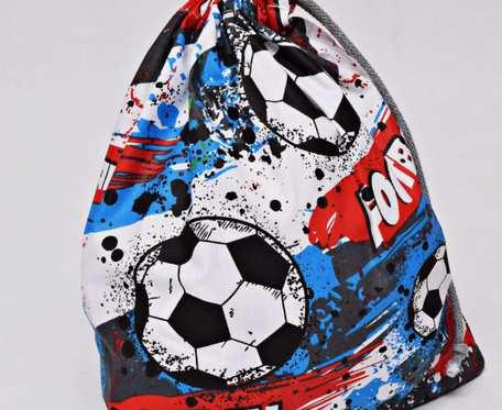 Worek na buty worek na kapcie do przedszkola do szkoły worek szkolny na ubrania piłka nożna football