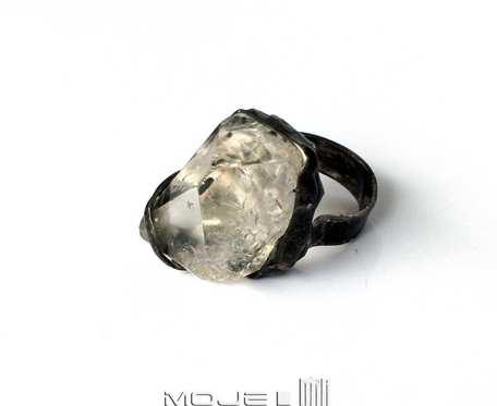 Kryształowe uderzenie II - duży pierścionek