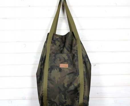 Wegańska torba shopperka Premium moro