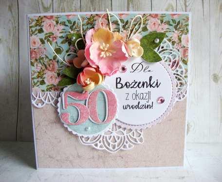 Kartka urodzinowa z pudełkiem