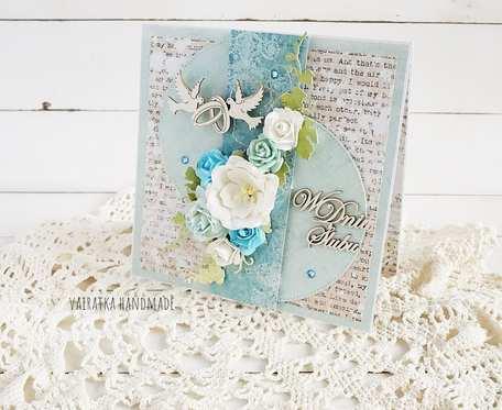W dniu Ślubu. Kartka w pudełku, 659