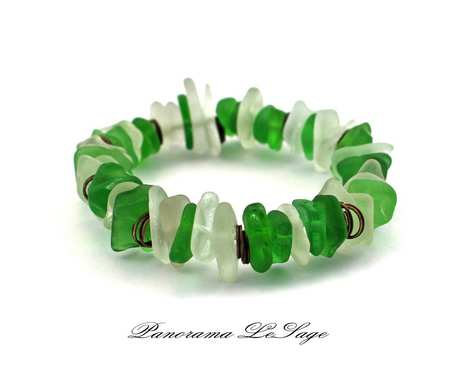 Sea Glass Bransoleta 17
