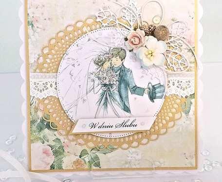 Kartka na ślub - ślubna