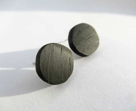 Drewniane wkrętki koła czarny dąb