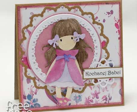 Kochanej Babci - Dziewczynka KDB2006