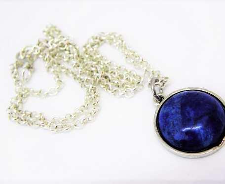BLUE - stal kamienie szlachetne
