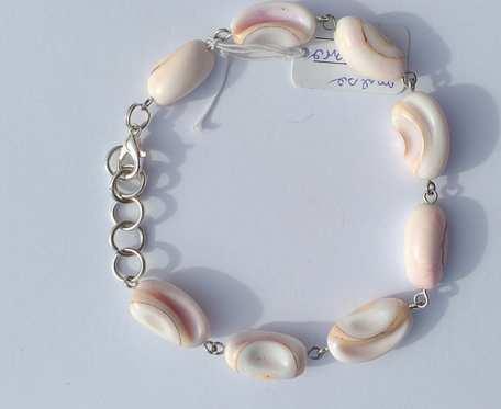 Bransoletka z masy perłowej - wzór III