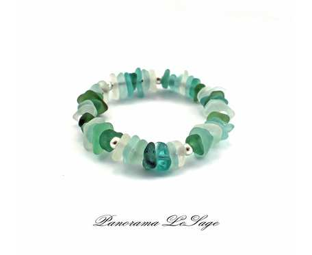 Sea Glass Bransoleta 16