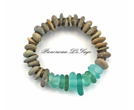 Sea Glass Bransoleta 14