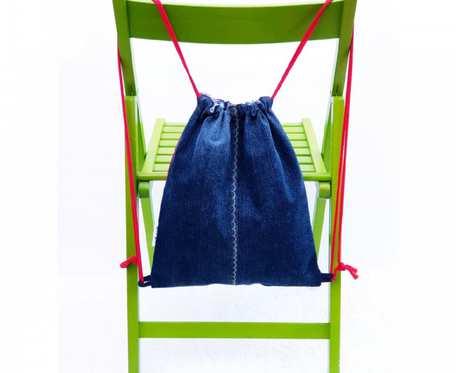 Plecak – Worek jeansowy Evelyne