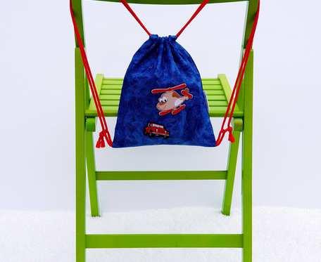 Plecak – Worek dla dzieci samolot i samochód