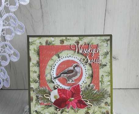 Kartka świąteczna Magiczny Czas 2 GOTOWA