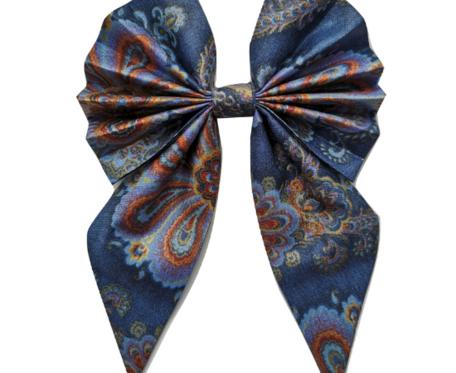 Mucha | Muszka Damska- Niebieska Mandala
