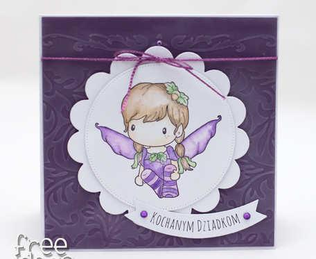 Kochanym dziadkom - aniołek KDB1801