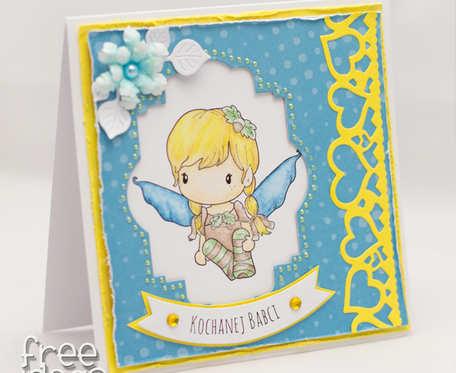 Kochanej Babci - aniołek KDB1805