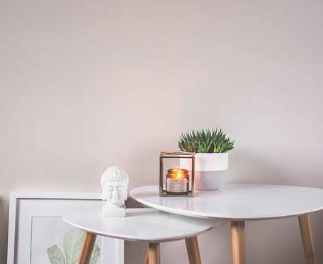 Kwiat bawełny - naturalna świeca sojowa