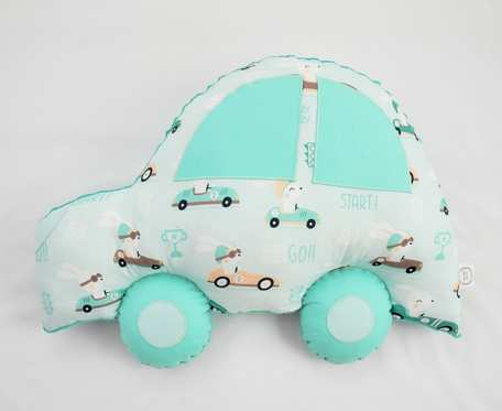 Poduszka samochód miętowy