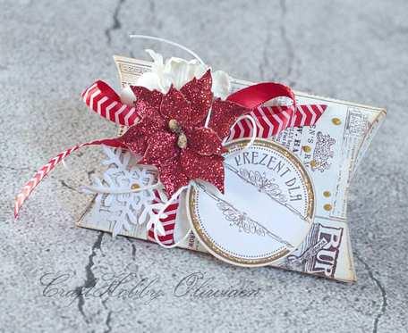 :Pudełeczko na świąteczny upominek