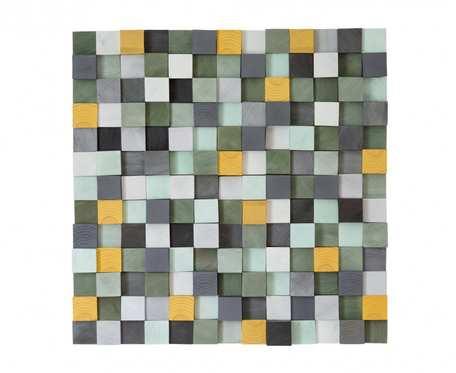 Mozaika drewniana GREEN
