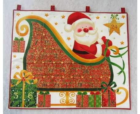 Kalendarz adwentowy - Mikołaj