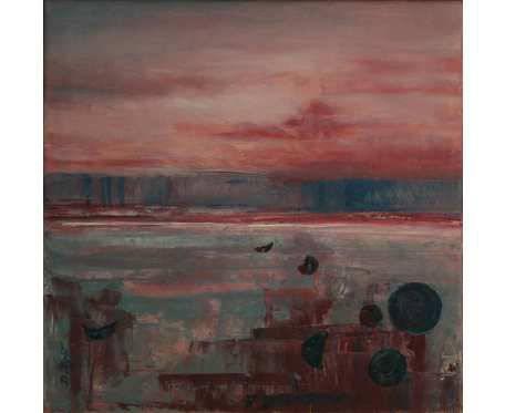 Czerwona Planeta, obraz olejny