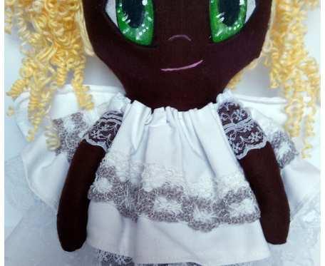 Aniołek lalka ciemoskóra