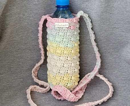 Torebka pokrowiec na butelkę wody