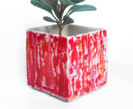 Osłonka 9cm - czerwone plamy