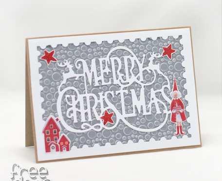 Merry Christmas - Kartka świąteczna KBN1941
