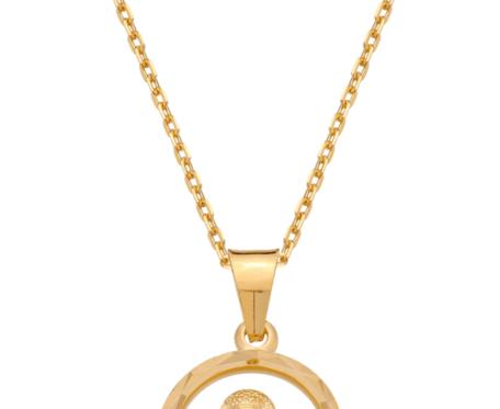 Naszyjnik z medalikiem
