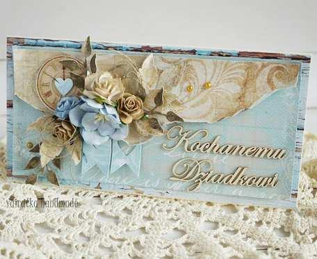 Kartka dla Dziadka (z pudełkiem) 019