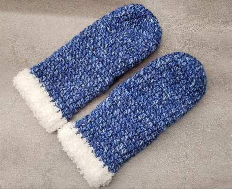 Grube rękawiczki