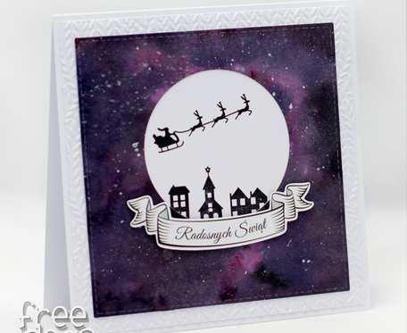 Cicha noc - kartka świąteczna  KBN1938
