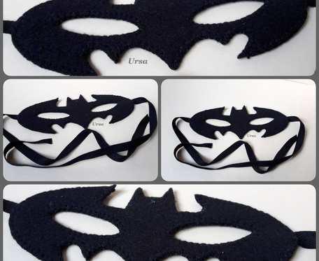 Maska karnawałowa Batman - Robin