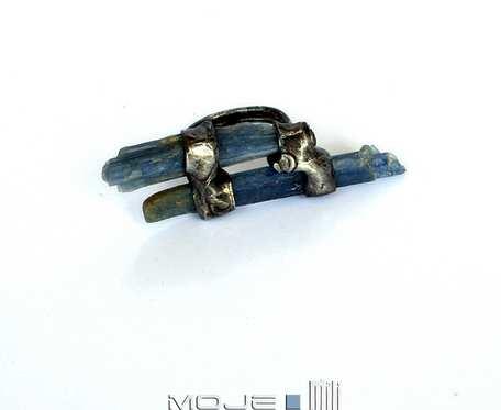 Błękitne drzazgi - pierścionek