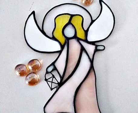 Anioł Serafin Tiffany