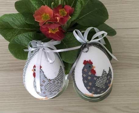 Jajka haftowane